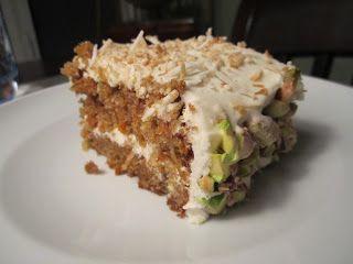 carrot cake iii carrot cake carrot pistachio coconut coconut cake ...