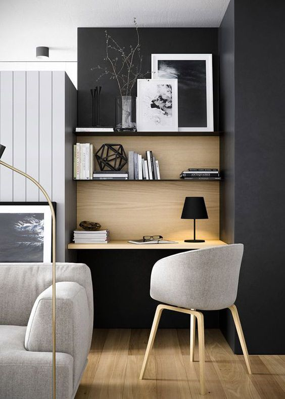 small home office. inspirations coups de cur tendances dcoration architecture du0027intrieur lyon small home officesmodern office