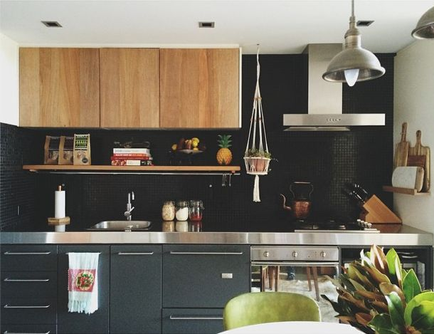 Rustic Recycled Kitchen Cupboards & Shelf By Geoff Belanger (Heart of Wood)