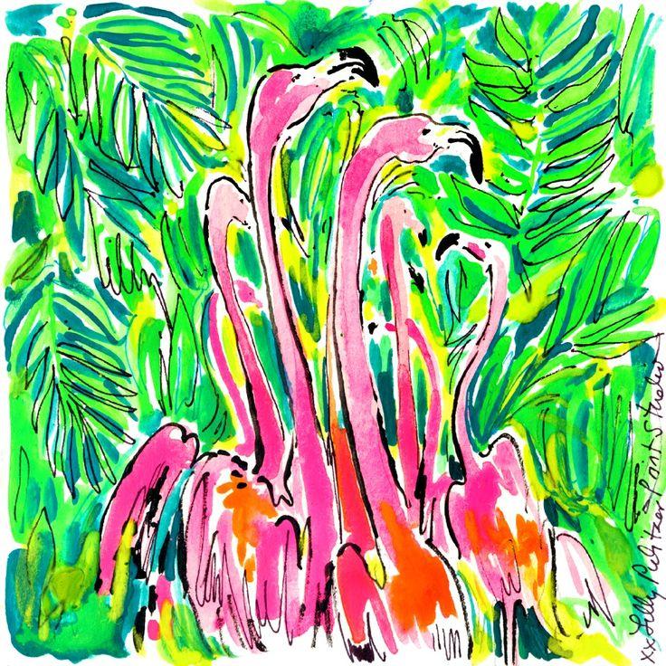 Flock on fleek. #Lilly5x5