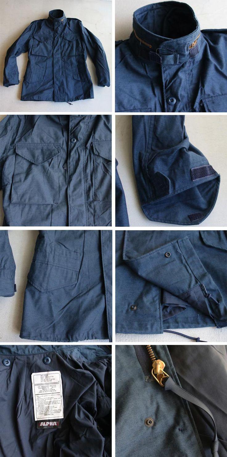 ALPHA(アルファ)M-65 フィールドジャケット【MADE IN U.S.A】『米国製』/ デッドストック - 【 Audience 】