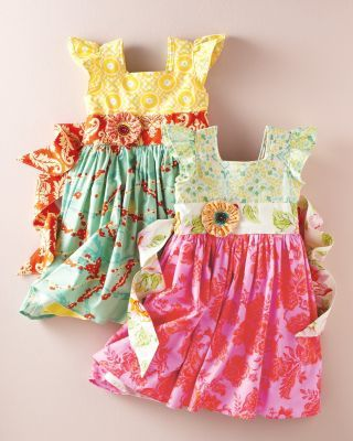 Flutter-Sleeve Party Dress by Hopscotch. Love this!!!