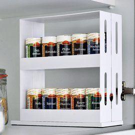 Kruidenrekje voor in de keukenkast: