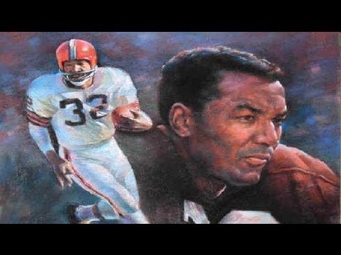 Jim Brown Highlights - A Legend | Football | Jim brown ...