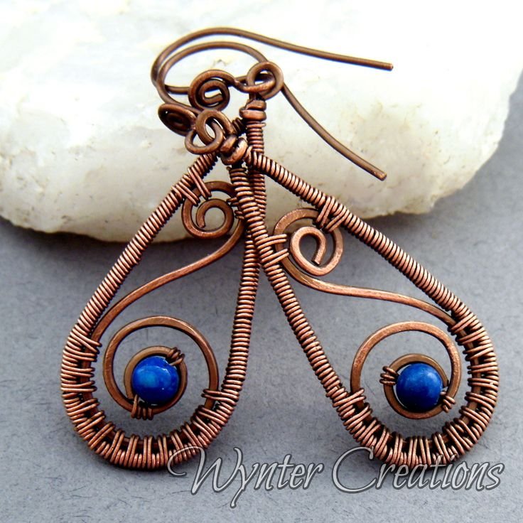 Magnificent Wire Weave Earrings Adornment - Electrical Diagram Ideas ...