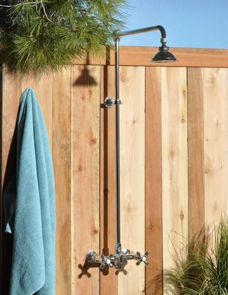 Affordable luxury! This outdoor shower until makes a great pool or beach side addition. What's not to love about this outdoor shower unit!