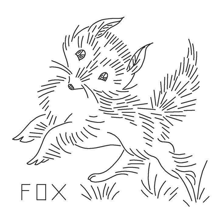 VP127 Wild Animals Vintage Embroidery Pattern PDF by primrose