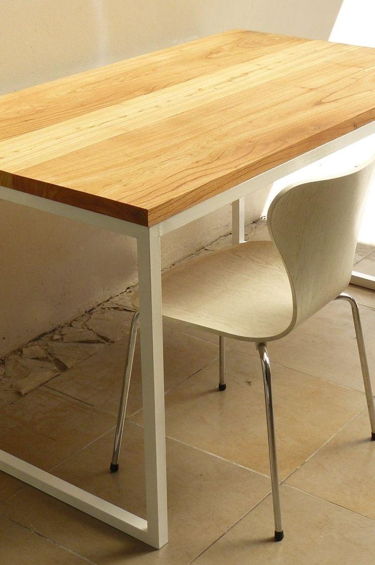 Las 25 mejores ideas sobre mesa de hierro en pinterest - Mesa de hierro ...