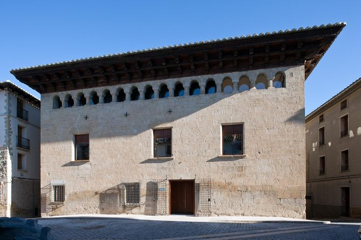 This is the remodeling, refurbishing and enhancement project of the Osset Palace, located in Forcall, a small village near Morella, in the interior of the Castellón Province (Region of Valencia, Spain).   This palace, built in the late 16th to earl