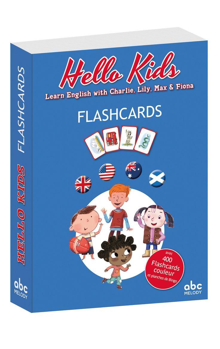 Cet ensemble de 400 flashcards cartonnées en couleur, complément du Guide Pédagogique HELLO KIDS, est destiné aux enseignants de cycle 3 de l'école élémentaire, pour aborder l'aspect culturel de l'enseignement de l'anglais. Sous forme de planches à découper, ces cartes sont les reproductions grand format (15x10,5cm) des mots-clés illustrés figurant dans les quatre albums
