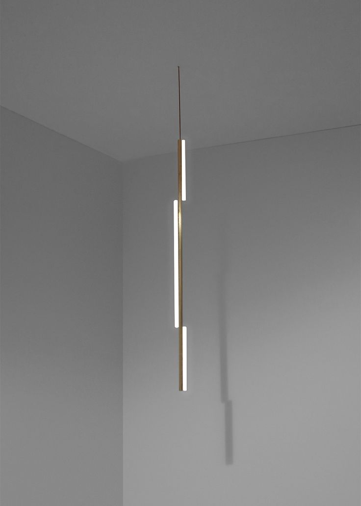 Michael Anastassiades linear brass lighting collection — Casas Lautes