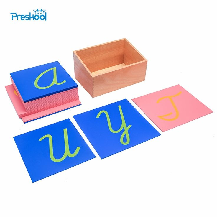 54.50$  Buy here - http://alism5.shopchina.info/1/go.php?t=32815939929 - Baby Toy Montessori Sandpaper Letters Capital Case Cursive with Box Early Preschool Brinquedos Juguetes  #magazineonline