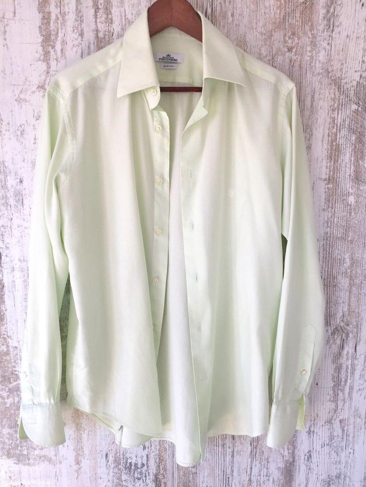 Egon Fürstenberg Shirt /  košeľa / ingElegant men shirt Made in Italy