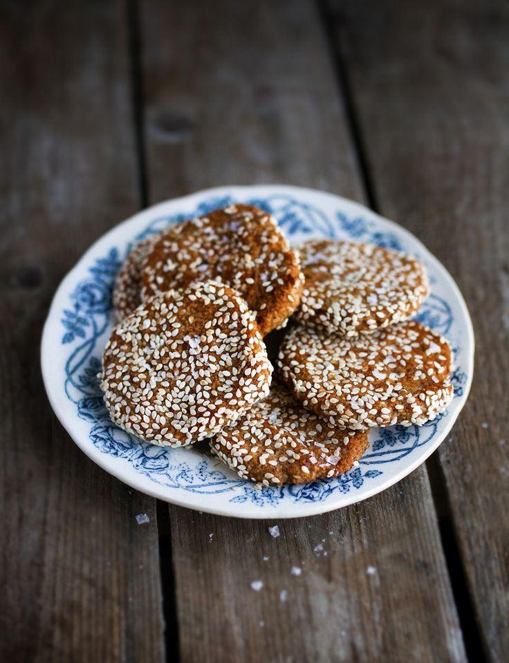 Glutenfria Kakor – Hasselnöt & Havssalt