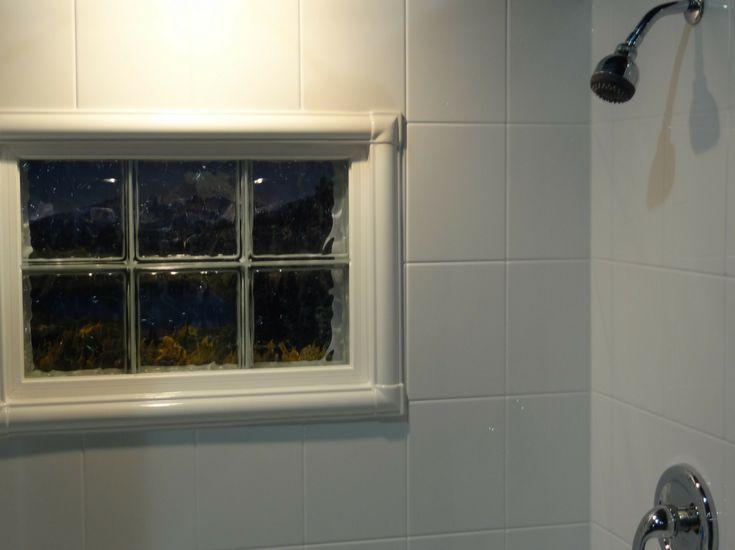 Glazed Window Trim : Best images about glass block windows on pinterest