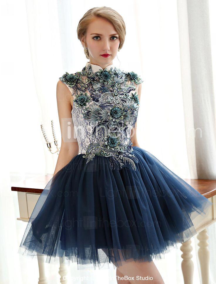 Vestido - Mini Linha-A - Frente única - USD $ 69.99
