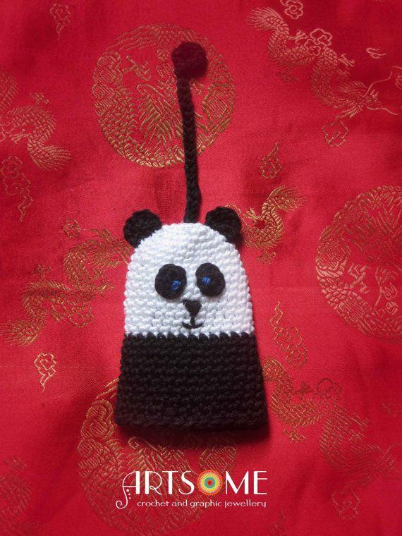 #Accessories  #Keychains&Lanyards  #panda  #kungfupanda  #unique #keyring  #keyholder #practicalpresent  #cutepanda babe  #blackandwhite  #amigurumi  #funnyandcute  #lordofthekeys  #uniquepresent #animalshaped #giftforher #giftforhim
