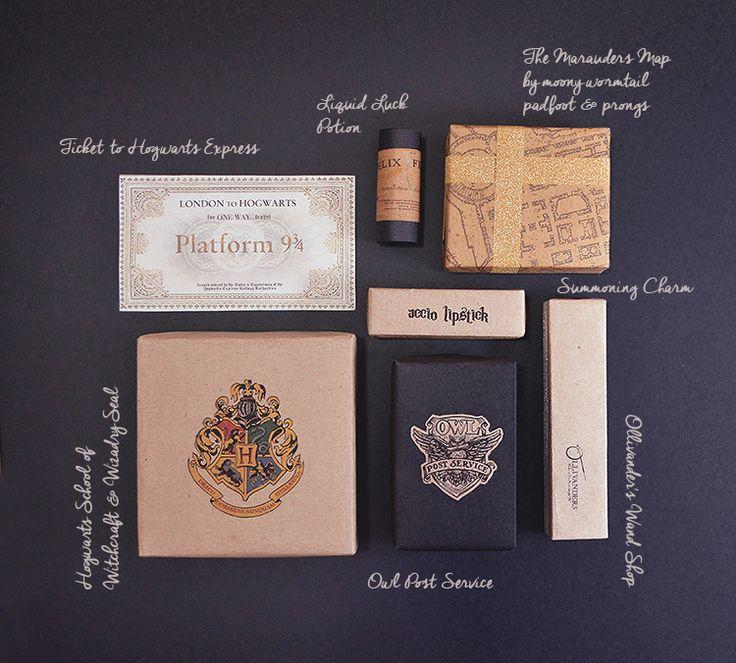 Un Noël Harry Potter : jolies idées de paquets cadeaux