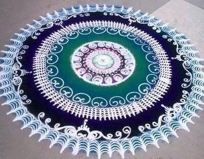 Rangoli pattern inspiration
