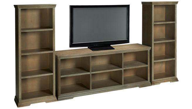 Aspen - Canyon Creek - 3 Piece Entertainment Center - Entertainment Centers for Sale in MA, NH and RI at Jordan's Furniture