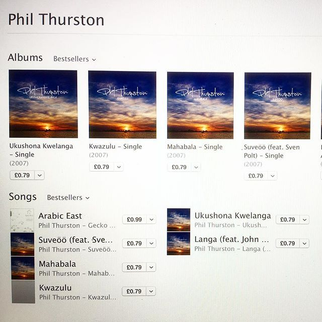 You can now download some of Phil's songs on iTunes... Yay! #music #iTunes…