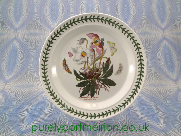 Portmeirion Botanic Garden Dinner Plate Hellebore & 274 best Portmeirion Botanic Garden images on Pinterest