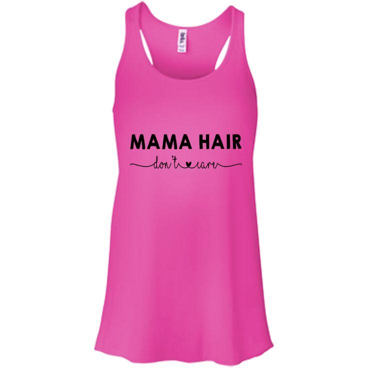 Mama Hair Don't Care Tank