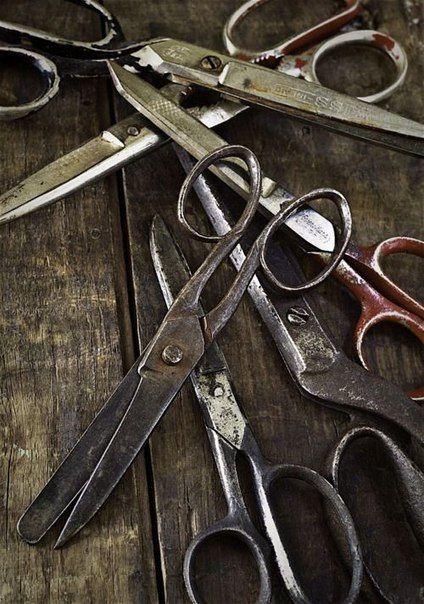 Как заточить ножницы в домашних условиях? / Болталка / Истории в картинках