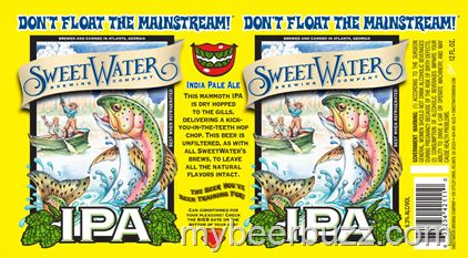 mybeerbuzz.com - Bringing Good Beers & Good People Together...: SweetWater IPA - 12oz Cans