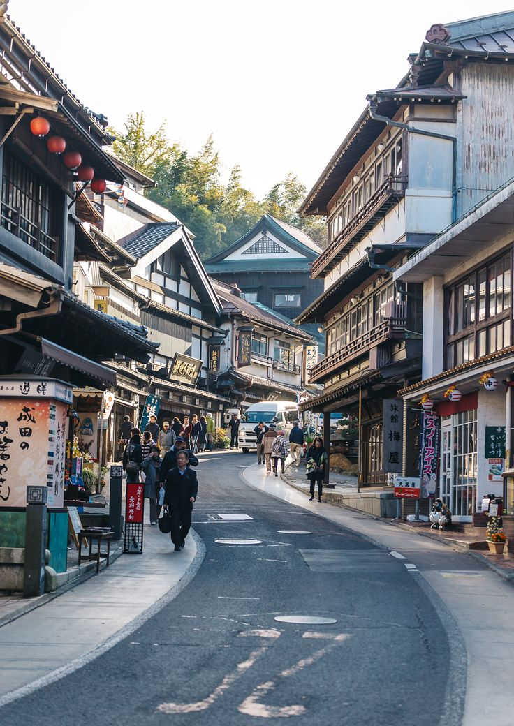 Omotesando street of Narita Temple, Japan. One of the best temples to visit in Japan right by Narita airport.