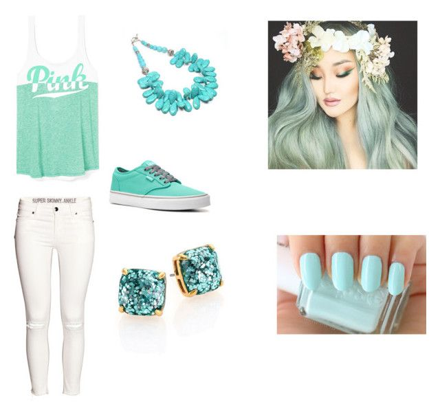 moda 11 by nialllove3 on Polyvore featuring polyvore, fashion, style, H&M, Vans, Kate Spade and Essie