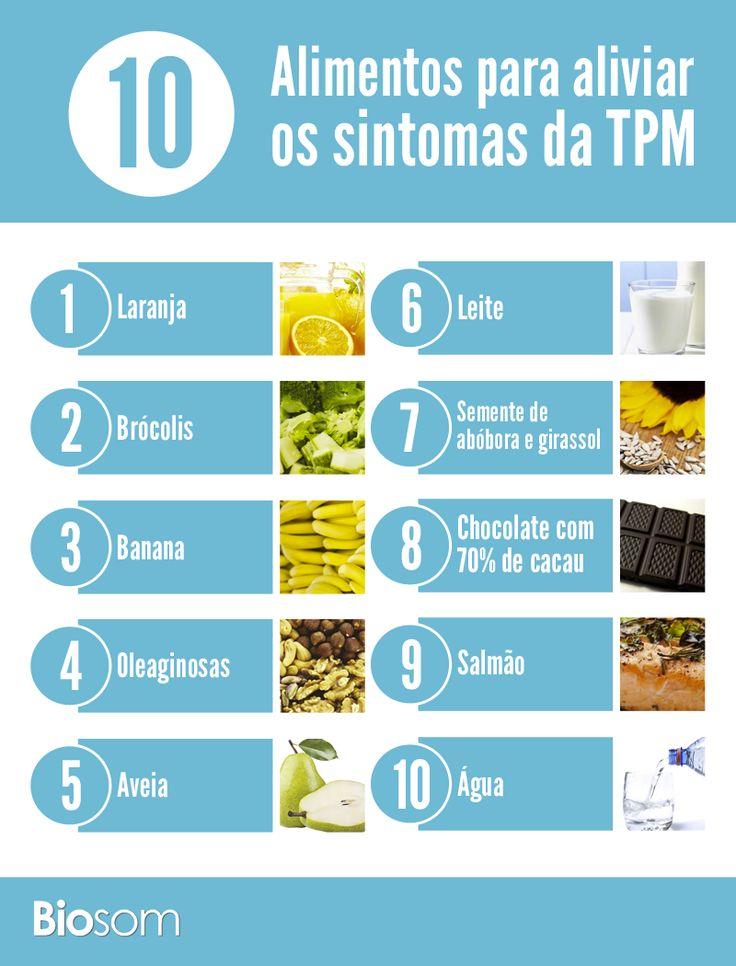 Clique na imagem ao lado e veja os 10 principais alimentos para aliviar os…
