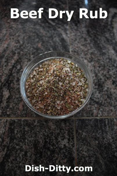 Beef Dry Rub by Dish Ditty Recipes - This is a simple dry rub recipe for beef.  I use it on my beef brisket, beef ribs, and other beef bbq dishes.  - http://www.dish-ditty.com/recipe/beef-dry-rub/
