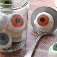 Edible Eyeballs - Halloween Treats - Kids Halloween Treats Recipes & Ideas | Spoonful