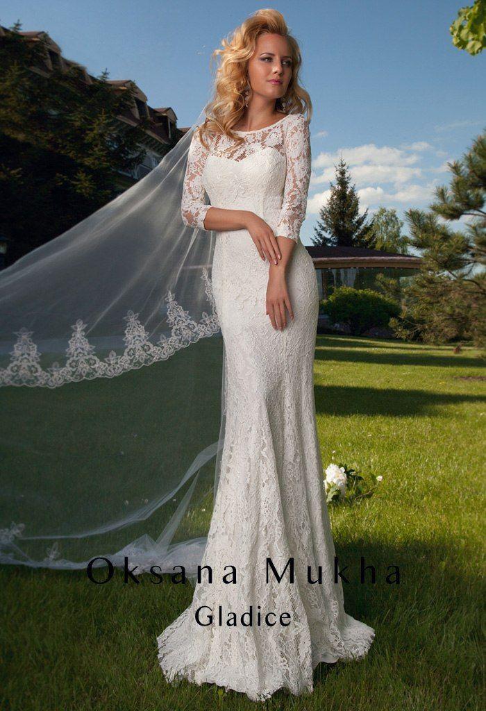 Прямые свадебные платья | 124 фотографии