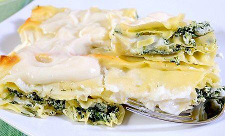 Medvehagymás lasagne
