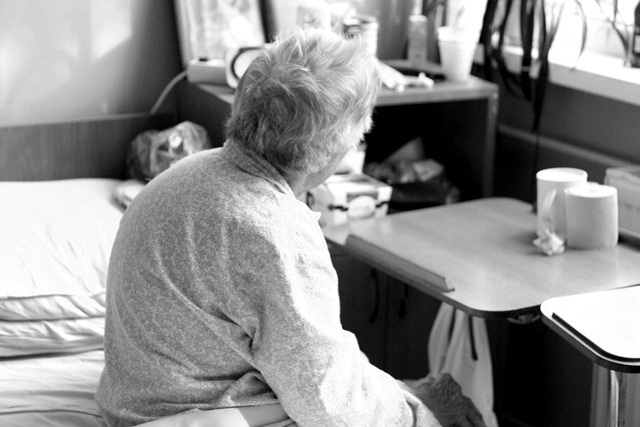 This photograph is part of an article I wrote, a few years back, about visiting an old-age home, just before Christmas. http://jpgmag.com/stories/3069