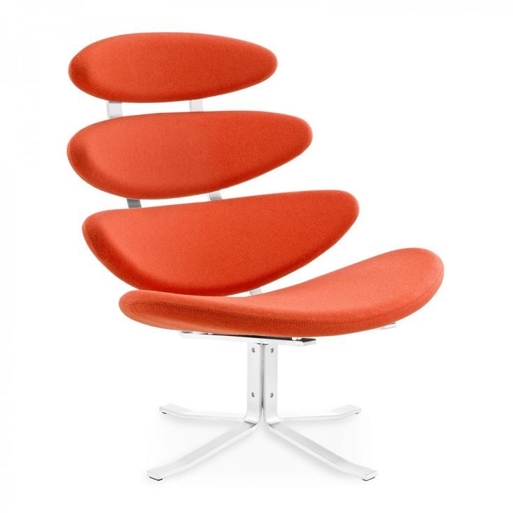 Corona Lenestol Poul Volther | Designermøbler | VOGA