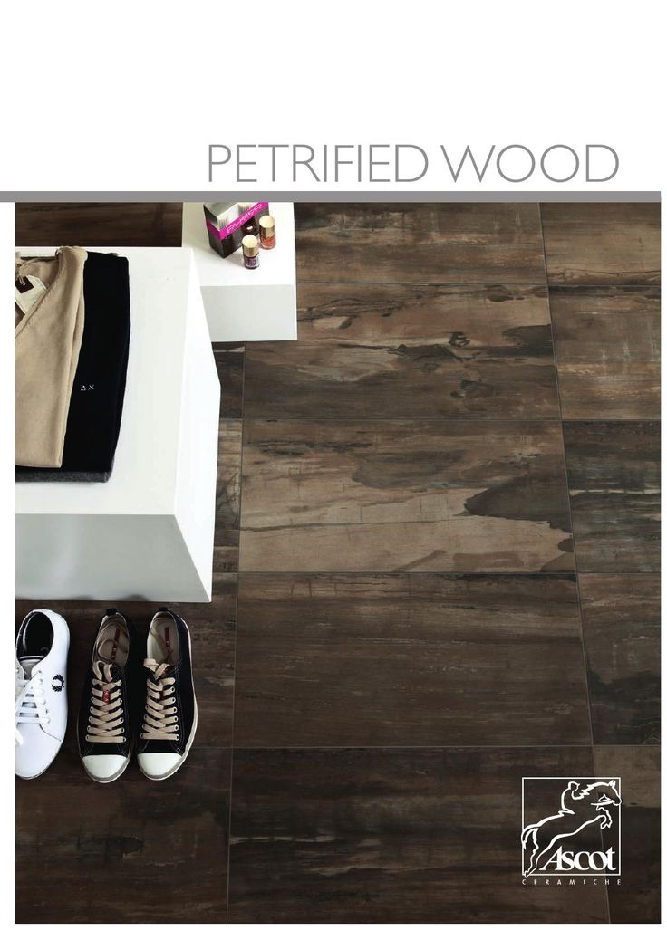 Petrified Wood. Please visit our website for more information about the Petrified Wood tile series at: http://www.juliantile.com/petrified-wood