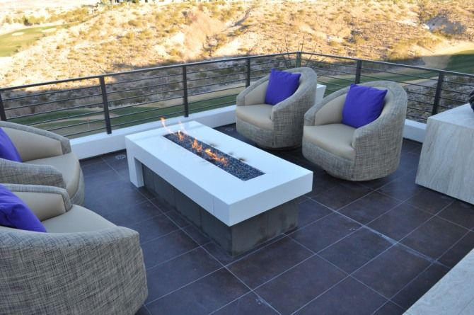 Outdoor Fireplace Home Improvement Ideas