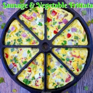 This easy frittata recipe pairs all-natural turkey sausage and your favorite veggies for a simple yet delicious egg dish.