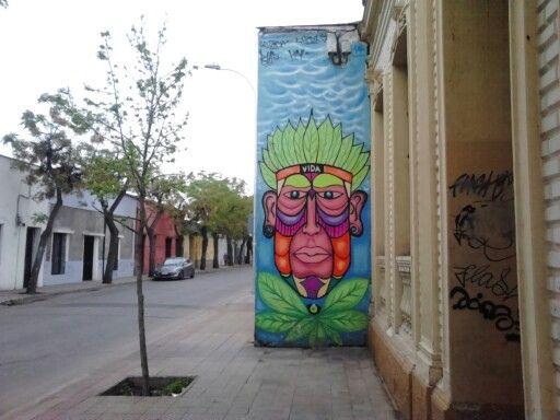 Street Art Chile Yungay Town / Arte Callejero Barrio Yungay Santiago de Chile