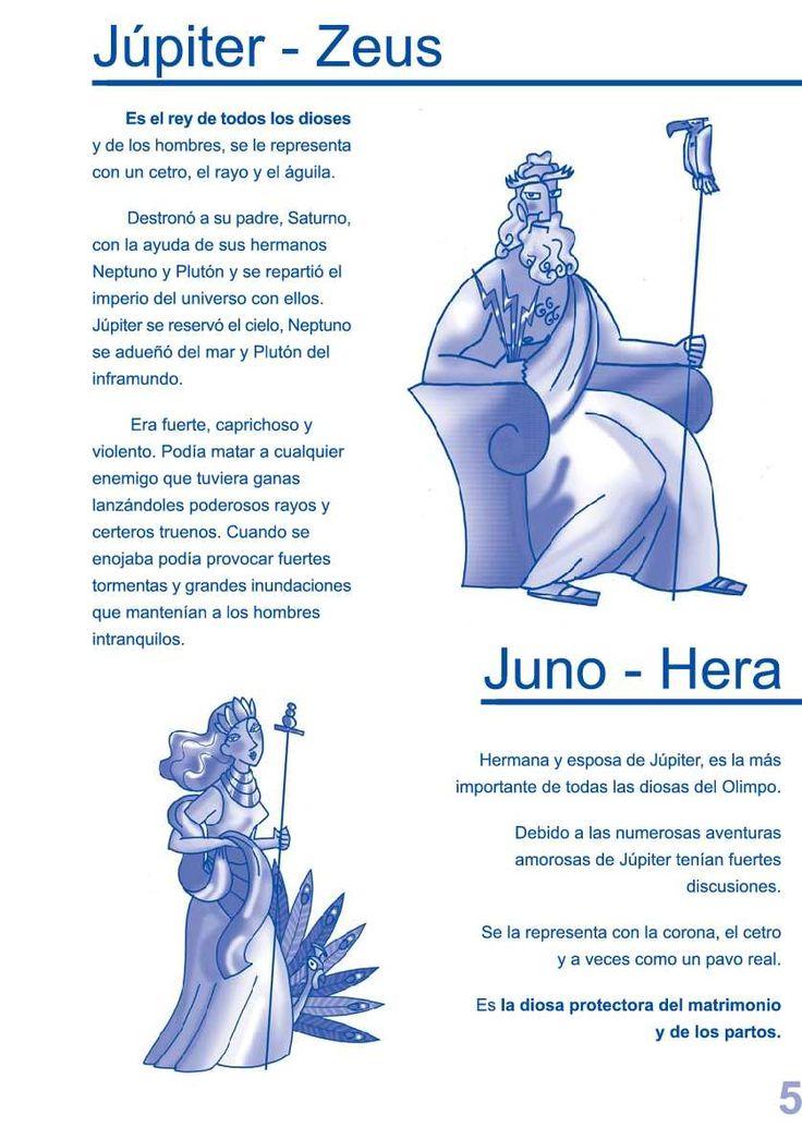 Mitología clásica para niños