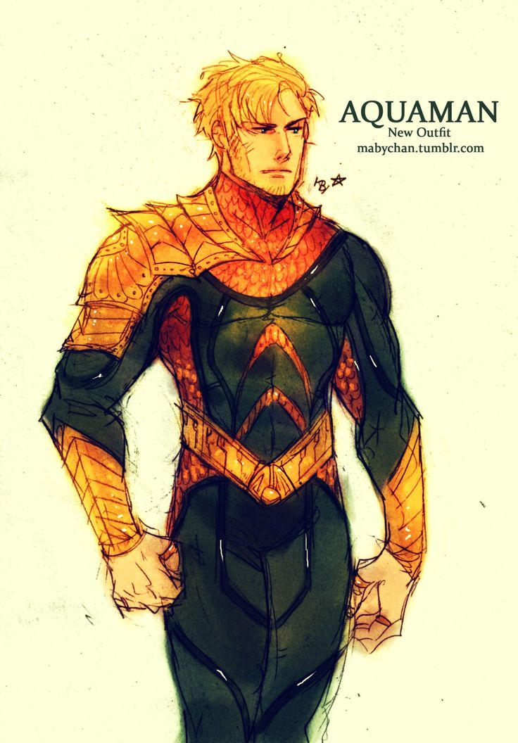 This is the best redesign for Aquaman I've ever seen. Love it!