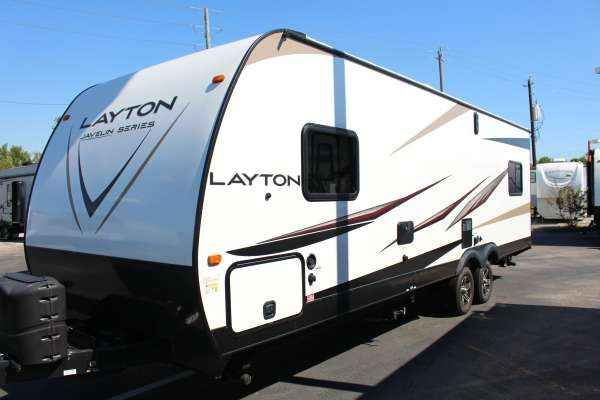 2016 New Skyline Layton by Skyline LAYTON 275RC Travel Trailer in Texas TX.Recreational Vehicle, rv, 2016 Layton by Skyline LAYTON 275RC 2016 LAYTON 275RC 2016 Layton By Skyline 26' Toyhauler Fiberglass and aluminum Structure, Ultra lite, can be hauled with small Pick up or SUV, Gas and electric water heater, gas and electric fridge, gas stove and oven, Power awning W/LED Lighting, Power Jacks, Front Bedroom with Queen Size walk around bed, Large Bathroom With Glass enclosed Shower, Sleeps 6…