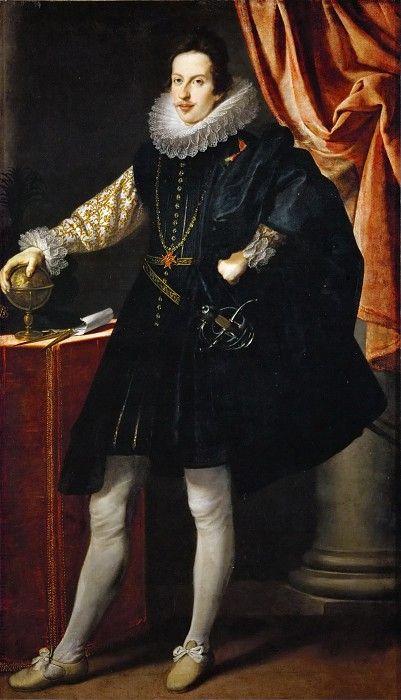 Justus Suttermans —  Grand Duke Cosimo II of Tuscany. Kunsthistorisches Museum