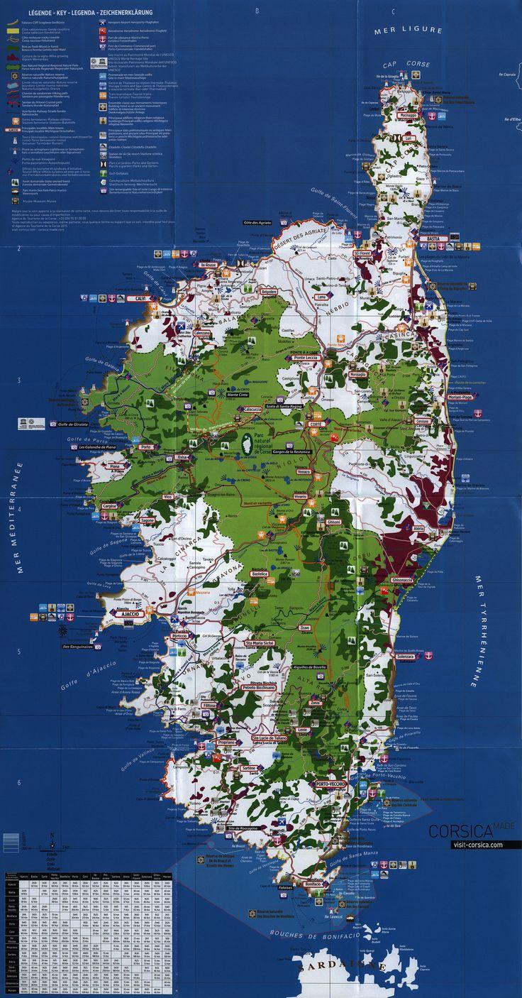 https://flic.kr/p/Pvmkxc | Corsica - Rendez-vous in Terra Nostra; Carte touristique/ Tourist map/ Mappa turistica/ Touristische karte; 2015_2, France
