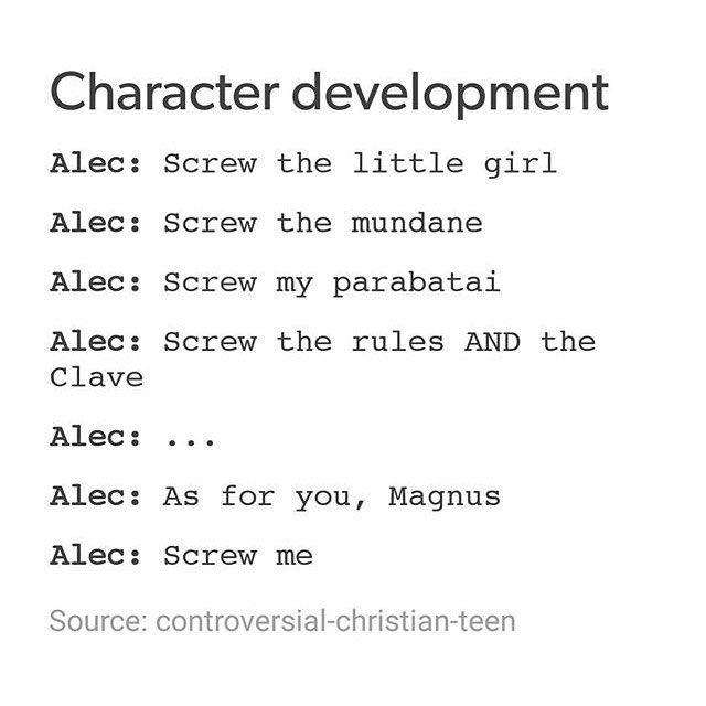 Lmao Alec ~ Shadowhunter