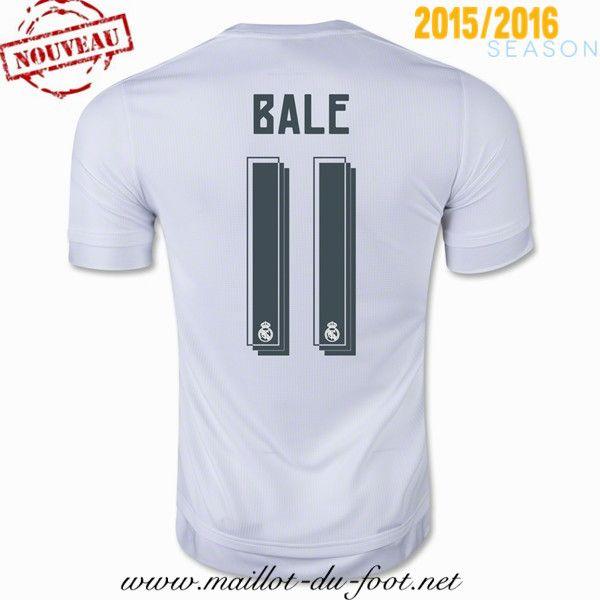la boutique officiel Maillot de foot Real Madrid Bale 11 Domicile 2015 2016 shopping