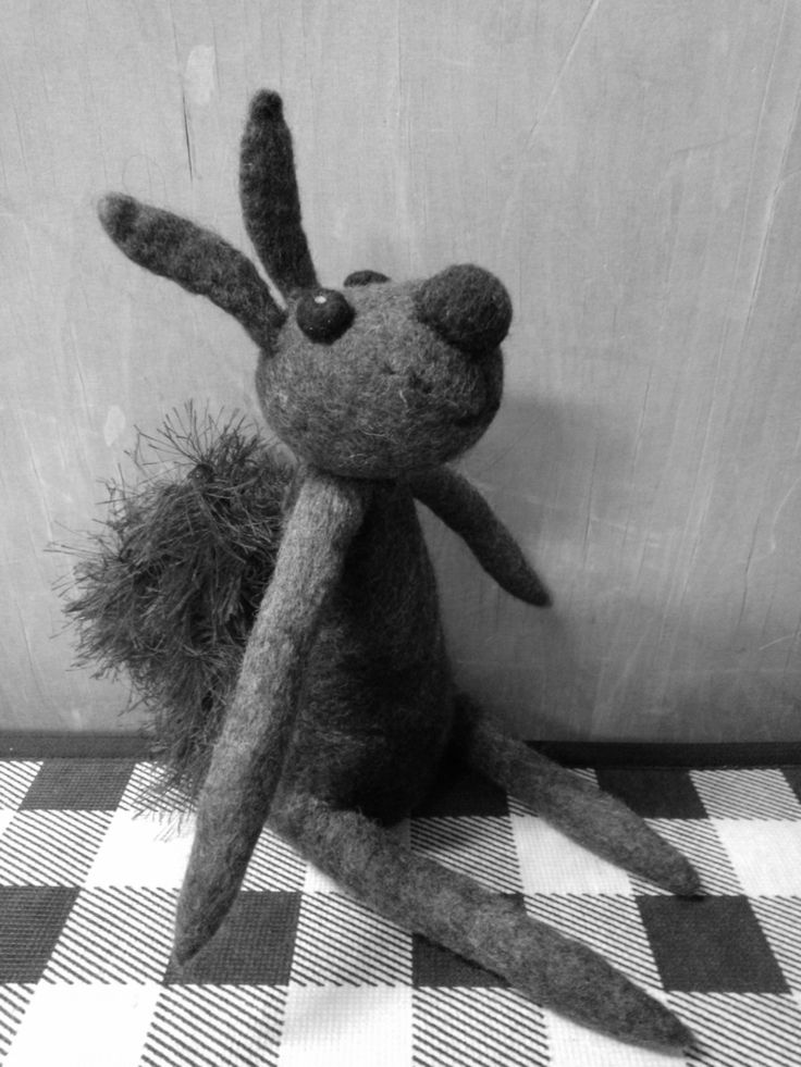 A Squirrel from a Suitcase Theatre.